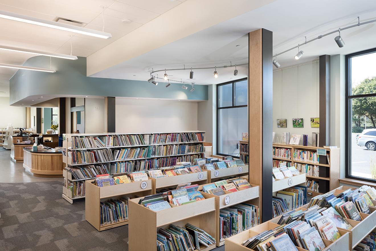 Children's area, Pierson Library
