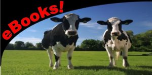 eBooks logo with cows