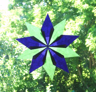 image of folding star example