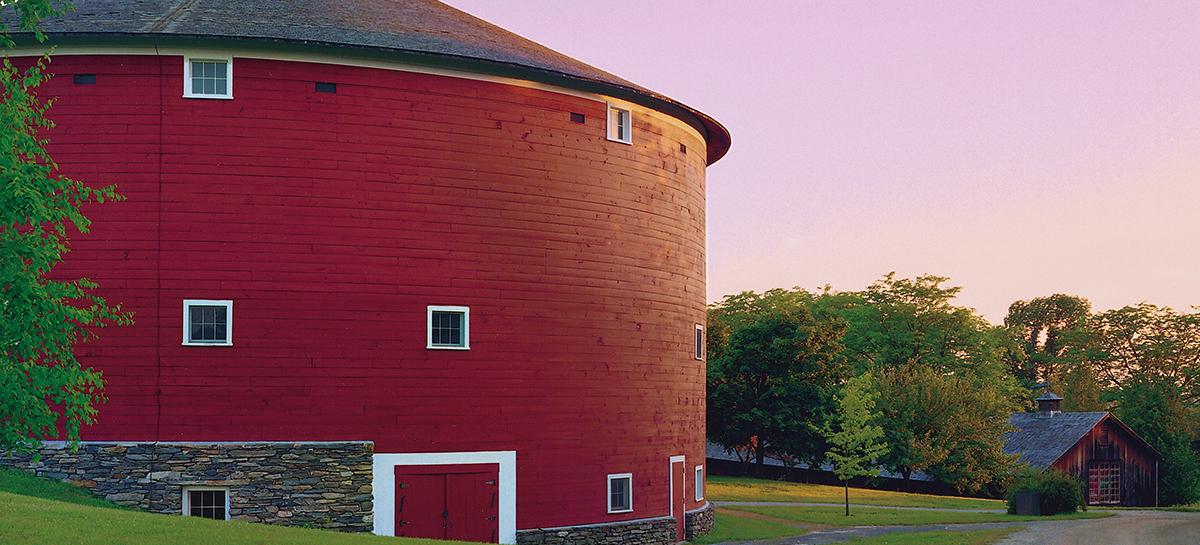 Shelburne Museum Round Barn