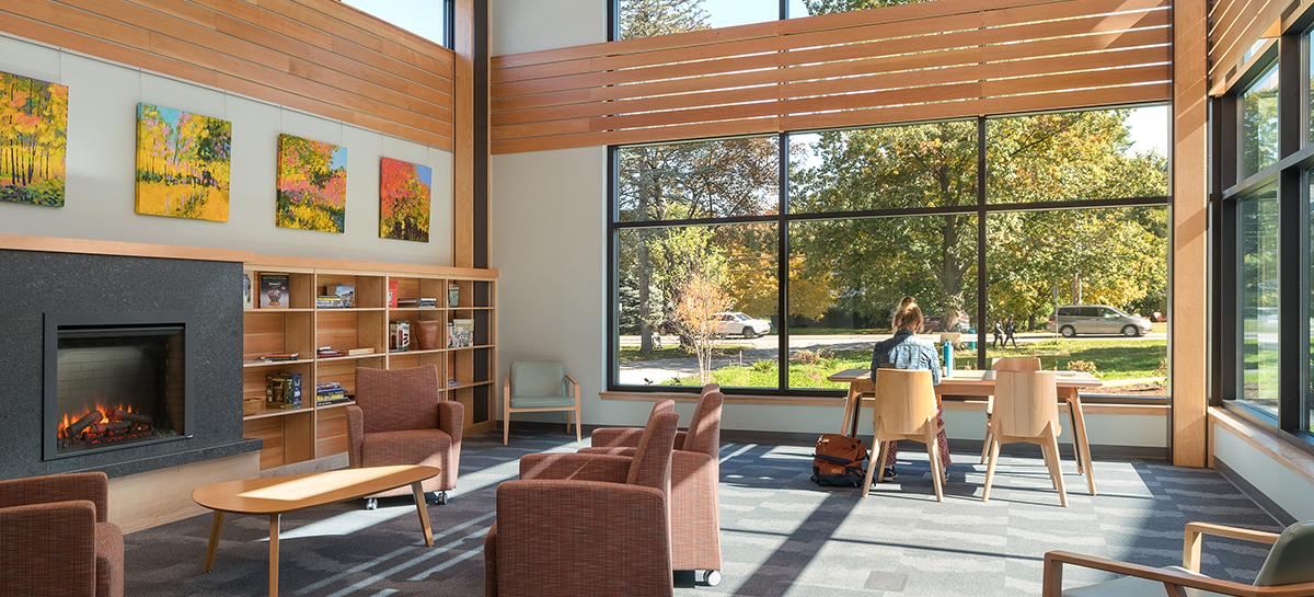 Community Room, Shelburne Library